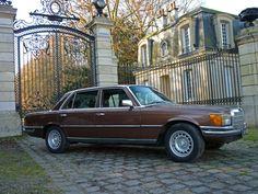 MERCEDES-BENZ CLASSE-S (W116) 450 SEL 6.9 (1975-1980) - RETRO
