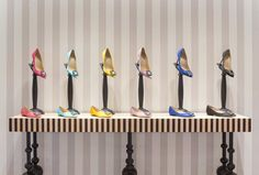 Manolo Blahnik London, London, 2015 - Nick Leith-Smith Architecture + Design