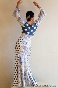 Tate_faldas_flamenca_moda48 Flamenco Costume, Flamenco Dancers, Flamenco Skirt Pattern, Dance Fashion, Summer Design, Dance Outfits, Refashion, Dress Patterns, Designer Dresses