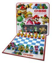 The Super Mario Bros. Collector's edition of the chess game is the ultimate strategy game featuring the most beloved and popular Super Mario Bros. Characters in classic poses as the chess pieces.Mario and Bowser are battling it out once again and thi Super Mario Brothers, Super Mario Bros, Mario Bros., Mario Toys, Yoshi, Luigi, Mario Video Game, Romantic Ideas, Board Games