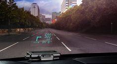 #Garmin #HUD, un #GPS directement sur votre par-brise !   Jean-Marie Gall.com