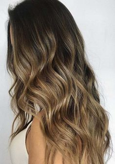 You may find here the most beautiful and stunning shades of brunette balayage hair colors for We have rounded up here the fantastic looks of balayage hair colors for Hair Color Shades, Ombre Hair Color, Hair Color Balayage, Cool Hair Color, Purple Hair, Hair Colors, Hair Color Ideas For Brunettes Balayage, Soft Balayage, Perfect Brunette