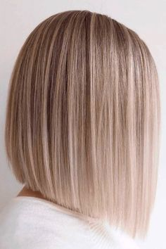 Haircuts Straight Hair, Long Bob Haircuts, Hair Cuts Straight, Back Of Bob Haircut, Blunt Haircut, Blonde Bob Haircut, Layered Bob Haircuts, Medium Hair Cuts, Short Hair Cuts