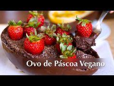 Receita de Ovo de Páscoa Vegano