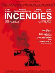 Incendies (2010), un film réalisé par Denis Villeneuve- Adapted from Wajdi Mouawad's play
