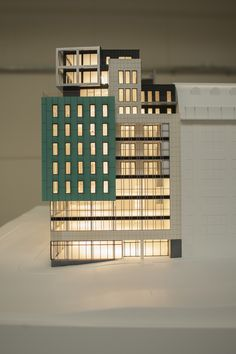 Project Metropolis - 3d printed scale model by ZiggZagg - 3dprinting