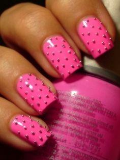 Studded Pink .