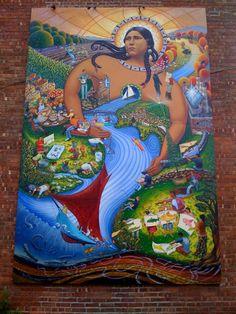 Diego riviera .....mexican muralist...a political art