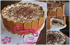 """Pradobroty: """"ohrazený"""" dort ke svátku Food Hacks, Food Tips, Nutella, Tiramisu, Pie, Birthday, Ethnic Recipes, Torte, Cake"""