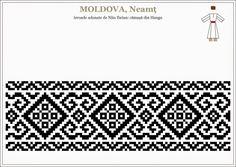 Cum recunoașteți modelele străvechi de pe IE față de cele inventate recent. Cum recunoști o IE cu modele străvechi românești, de UN KITSCH. | Lupul Dacic Folk Embroidery, Embroidery Patterns, Beading Patterns, Cross Stitch Patterns, Moldova, Loom Beading, Textile Patterns, Knitting Stitches, Cross Stitch Designs