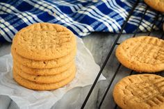 3+Ingredient+Peanut+Butter+Cookies+Recipe