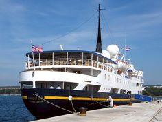 """ANDREA"" - IMO 5142657   09/10/2007, Zadar, Croatia. Launche…   Flickr Croatia, Boat, Album, Dinghy, Boats, Ship"