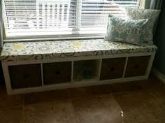 Super Diy Storage Bench For Bedroom Cushions Ikea Bookcase 65 Ideas Diy Storage Bench With Cushion, Cube Storage Bench, Kitchen Storage Bench, Window Seat Storage, Storage Bench Seating, Playroom Storage, Diy Bench, Ikea Bench, Food Storage