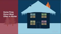 Did you know house fires occur most often in winter? Watch this video and learn how to avoid common fire hazards via FEMA.