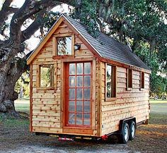 small houses on wheels lower your carbon tire print - Small House On Wheels