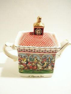 "English Sadler""a day at the races teapot"""