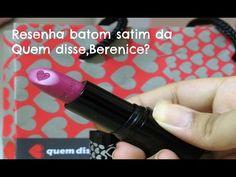 Assista esta dica sobre Resenha-Batom nova coleção da QDB? e muitas outras dicas de maquiagem no nosso vlog Dicas de Maquiagem.