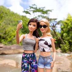 A Hawaiian hike is a must on our island itinerary! 🌿 #barbie #barbiestyle