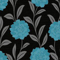 Arthouse Opera Evie Wallpaper Blue 615105