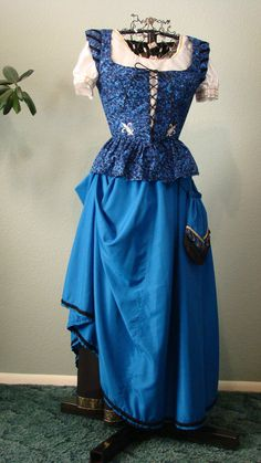 Peasant Dress by StitchduckDesigns on Etsy, $200.00
