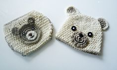 Size:  0-3 months  3-6 months    6-12 months    It is made with really soft acrylic yarn