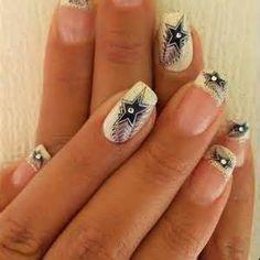 Cowboy Nails on Pinterest | Hunting Nails, Western Nail Art and ...