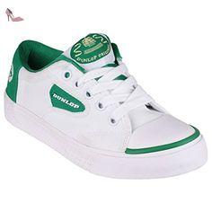 sale retailer ab20f ee846 Dunlop Green Flash DU1555 - Chaussures de sport - Enfant unisexe  Amazon.fr Chaussures et Sacs