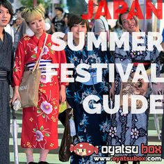 Have you ever been to a Japanese Summer Festival? Read a beginners guide on our blog.