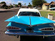 59 Chevy Impala Convertible