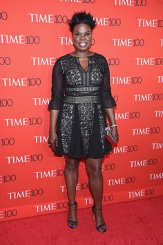 Leslie Jones Gets Everything But One Detail Perfect at the Time 100 Gala