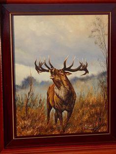 festmény vadász Vadvilág-festmények painter / Kunstmaler - Képtár - G-Portál