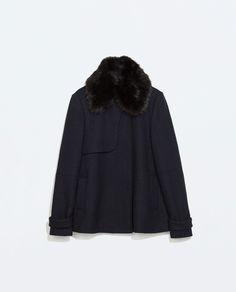 ZARA - WOMAN - SHORT STRUCTURED COAT