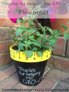 """Thanks for Helping Me Grow"" Teacher Appreciation Gift 