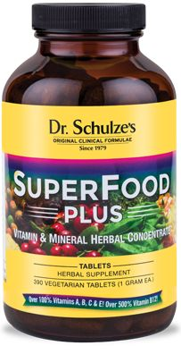 SuperFood, Detox & Cleansing Herbal Remedies - Dr. Schulze