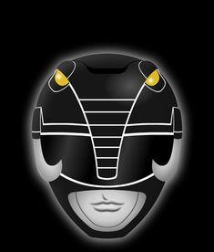 Black Ranger Helmet from Mighty Morphin Power Ranger. Dan