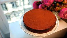 Chocolade-sinaasappeltruffeltaart - recept | 24Kitchen