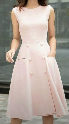 Vestido lindo - Vestido lindo Source by - Simple Dresses, Elegant Dresses, Cute Dresses, Beautiful Dresses, Casual Dresses, Fashion Dresses, Business Dresses, Petite Dresses, Elegant Outfit