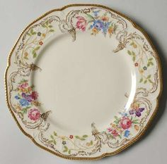 """Pompadour"" china pattern from Rosenthal."