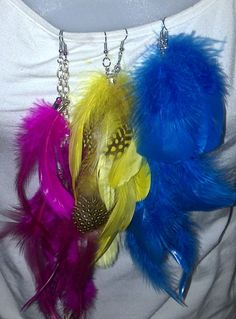 Feathers of Paradise! Just in time for Summer! Get yours know!    Jewelryfetish@gmail.com
