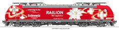 #railcolor #locomotive #graphics www.railcolor.net #DB #Railion #railways
