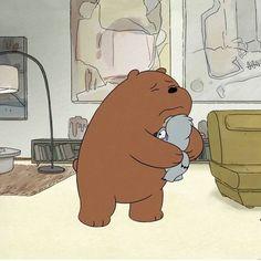 Cartoon Profile Pics, Cartoon Pics, Cute Cartoon, Bear Meme, We Bare Bears Wallpapers, Cartoon Panda, We Bear, Bear Pictures, Bear Wallpaper