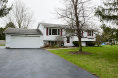 609 Valley Drive West, Chittenango, NY 13037 – MLS# S1039560 – $150,000  609 Valley Drive West, Chittenango, NY     2216 Sq ft   4 Beds   2 Full Baths   All new Stainless Appliances   2 Car Attached Garage   Central Air   Laundry Area   Huge basement family room   Gas Fireplace in basement   Partially fenced yard    **New Roof Scheduled for 1st wk in May!! (weather permitting)   Gorgeous updated Raised Ranch with great neutral colors. New Kitchen Cabinets, Pendant Lighting, Granite…