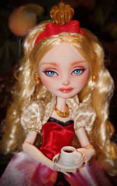 RESERVED - Ever After High - Apple White repaint