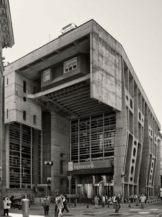 Clorindo Testa, Cemal Emden, Federico Cairoli · The Bank of London and South America