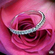 """Elena"" Diamond Wedding Ring"