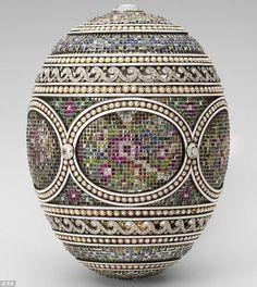 ✮ Faberge Mosaic egg, 1914