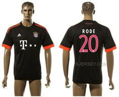 http://www.xjersey.com/201516-bayern-munchen-20-rode-uefa-champions-league-away-thailand-jersey.html 2015-16 BAYERN MUNCHEN 20 RODE UEFA CHAMPIONS LEAGUE AWAY THAILAND JERSEY Only 33.11€ , Free Shipping!