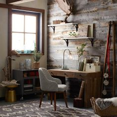 Rustic Country Office | West Elm