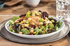 Don't let the word butterflied throw you. Using the thin-sliced chicken breasts is the reason this bistro-style salad is so quick to make.