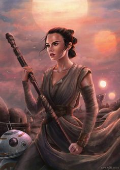 """evakosmosart: """"Rey Star Wars """"I need someone who will show me the way in this world"""" """" Rey Star Wars, Finn Star Wars, Star Wars Fan Art, Star Wars Tattoo, Star Wars Quotes, Star Wars Humor, Site Art, Star Wars Wallpaper, Star Wars Gifts"""